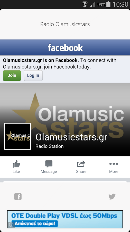 Radio Olamusicstars- screenshot