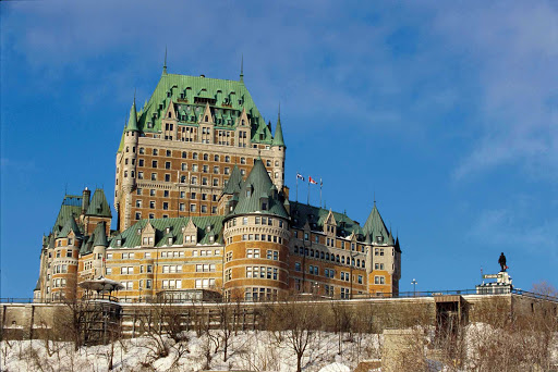 Chateau-Frontenac-Quebec-City-2 - Chateau Frontenac, a historic grand hotel in Quebec City, Canada.