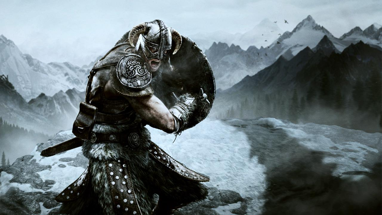 Skyrim Live Wallpaper- screenshot