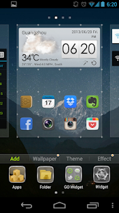 GO launcher EX (русский) - screenshot thumbnail