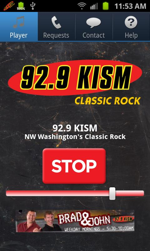 92.9 KISM - screenshot