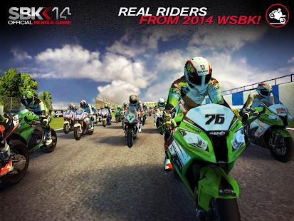 SBK14 Official Mobile Game Screenshot