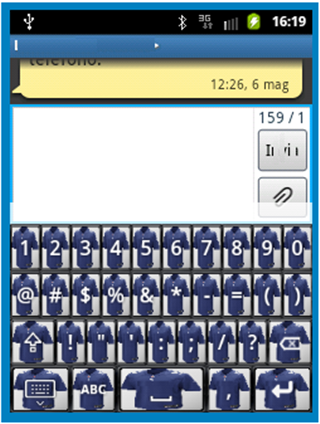 The Cowboys Keyboard