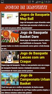 Jogos de Basquete - screenshot thumbnail