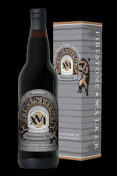 Logo of Firestone Walker 16th Anniversary Ale