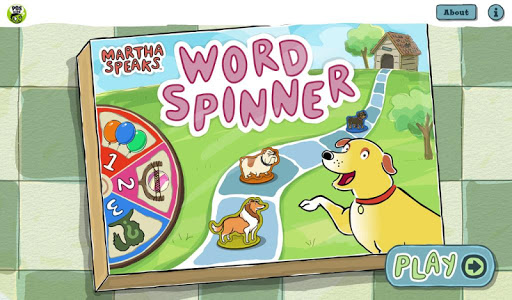 Martha Speaks Word Spinner