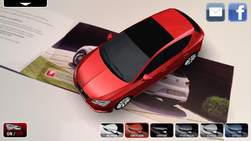 SEAT Leon 3D - screenshot