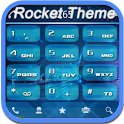 RocketDial Theme Tech Blue