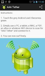 AAA Tether Free (No Root)- screenshot thumbnail