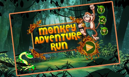 猴子冒险运行