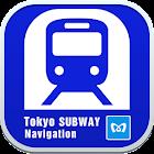 Tokyo Subway Navigation icon