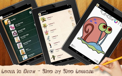 Game Learn To Draw Bob Sea Spunge APK for Windows Phone