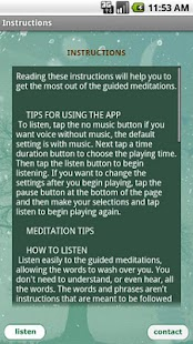 Simply Being Guided Meditation - screenshot thumbnail