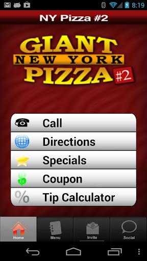 Giant New York Pizza 2