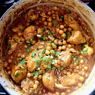 Chicken & Chickpea Curry.