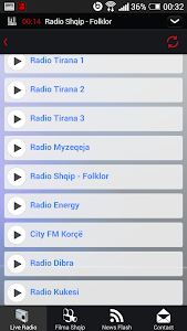 Albanian Live Radio - Lite screenshot 3