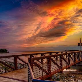 Harbor Delight by Kelley Hurwitz Ahr - Buildings & Architecture Bridges & Suspended Structures ( dallas,  )
