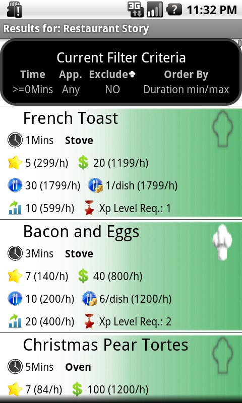Cookbook Story Optimizer- screenshot