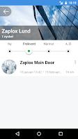 Screenshot of Zaplox Mobile Keys