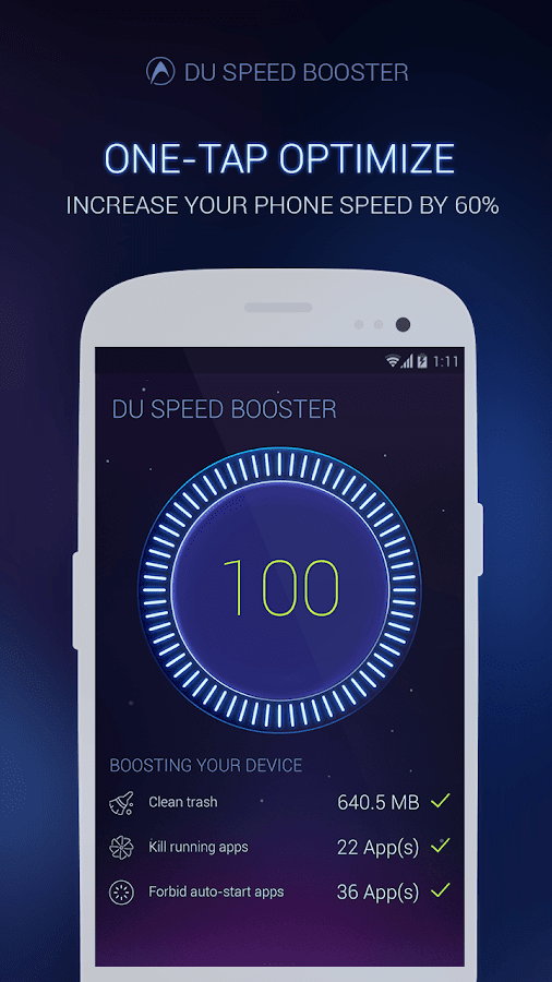 ����� ����� ���� ����� �� ������ DU Speed Booster 2.0.5 ���� �����