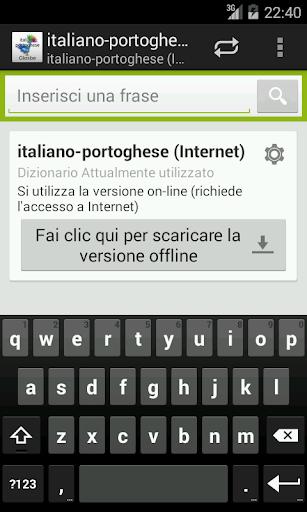 Italiano-Portoghese Dizionario