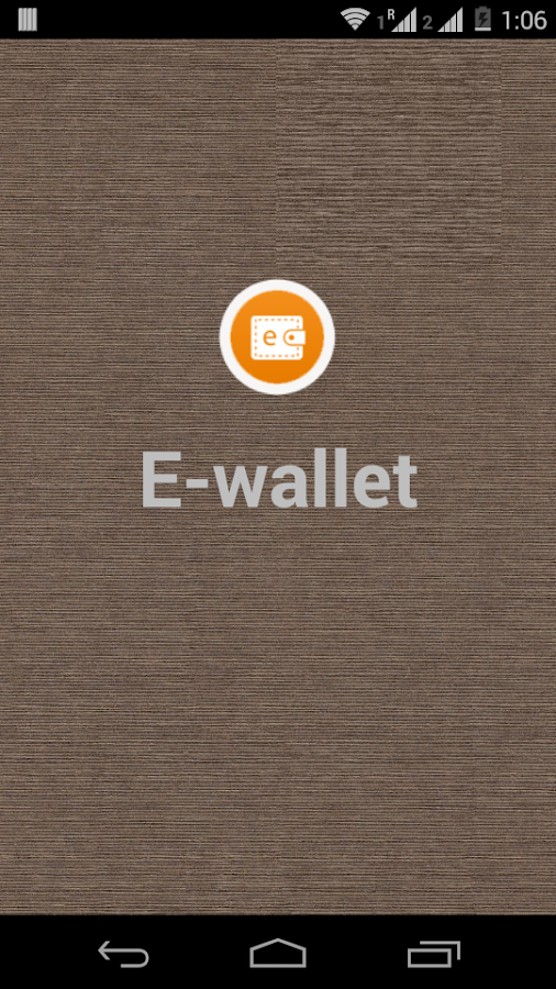E-Wallet- screenshot