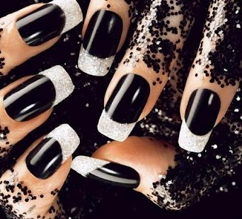 Nail art designs black white android apps on google play nail art designs black white screenshot thumbnail prinsesfo Gallery