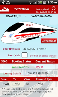 PNR Status - Indian Railways- screenshot thumbnail