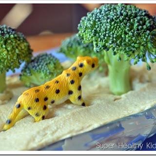 Broccoli Trees and Sandy Beach Beans