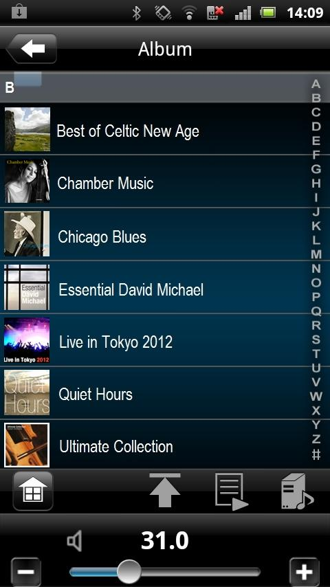 Denon Remote App - screenshot