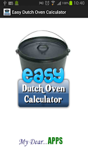 Easy Dutch Oven Calculator- screenshot thumbnail