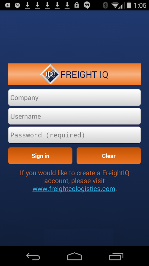 FreightCo FreightIQ- screenshot