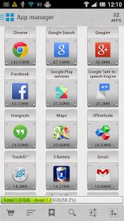 AppMgr Pro III (App 2 SD) - screenshot thumbnail