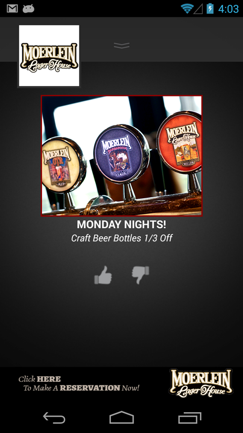 Moerlein Lager House- screenshot
