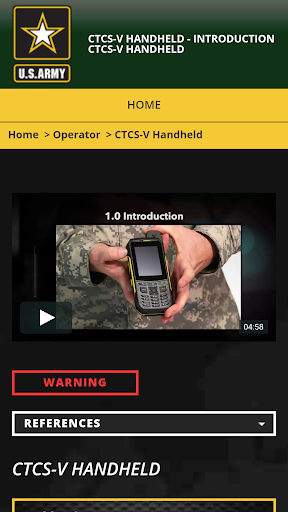 CTCS-V Handheld