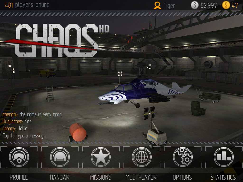 C.H.A.O.S Multiplayer Air War - screenshot