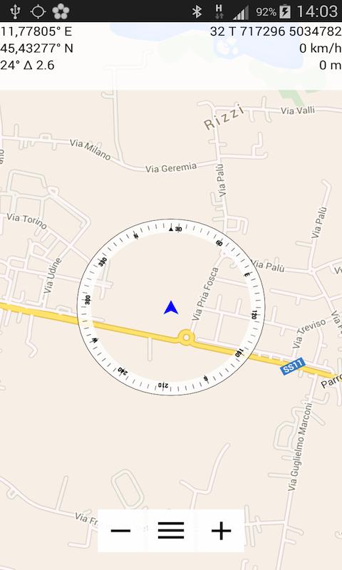 Compass Commander Lite - screenshot