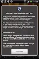 Screenshot of SMODA Widget