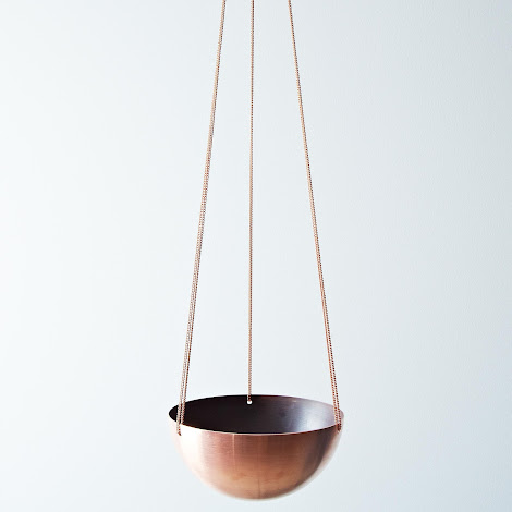 Copper Hanging Basket