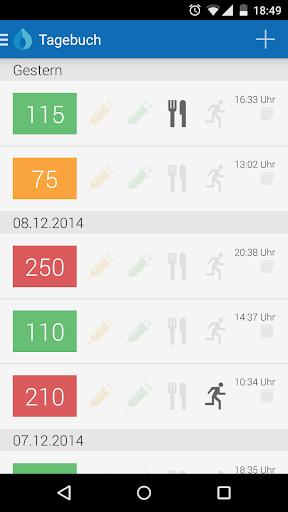 meinDiabetes die Diabetes App