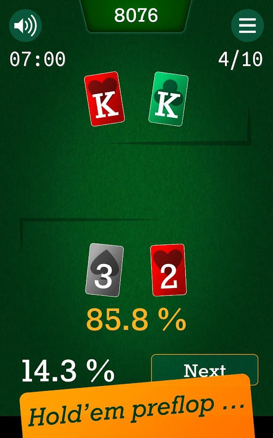 Equity Battle - Poker Training- screenshot