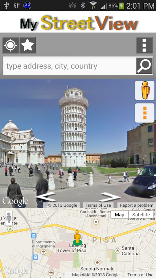 My Street View - screenshot