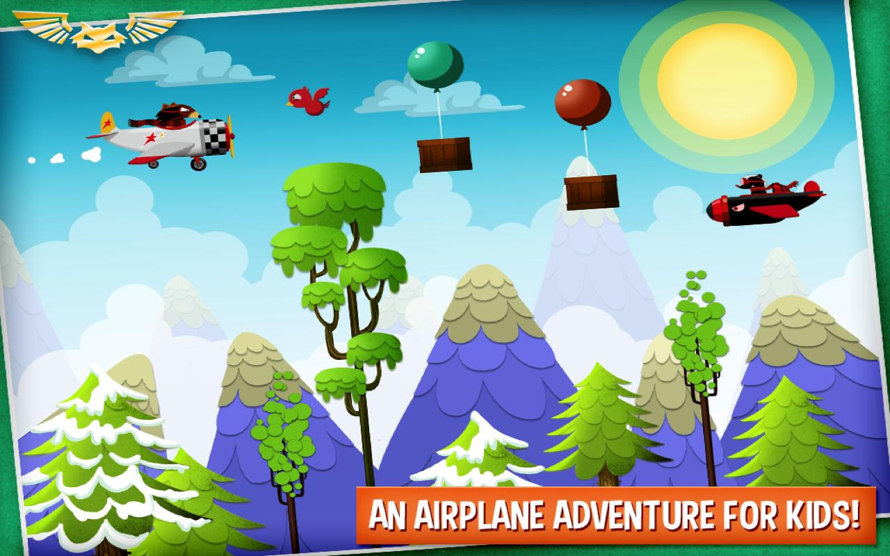 Wombi Airplane - screenshot
