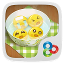 Dumpling guy GO Launcher Theme mobile app icon