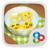 Dumpling guy GO Launcher Theme