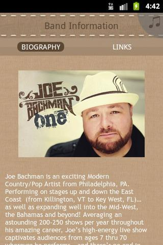 Joe Bachman - screenshot
