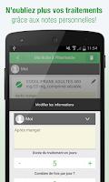 Screenshot of Médicaments AZ