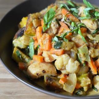 Thai Curry Chicken.