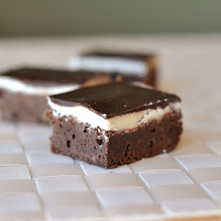 Magical Layered Brownies.