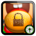 Fast Food theme Go Locker icon